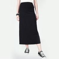 Rok Wanita / Worm Black Skirt 53028L7BK - Logo Jeans
