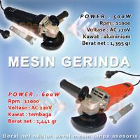 Mesin Gerinda Tangan / Angle Grinder AC 220V