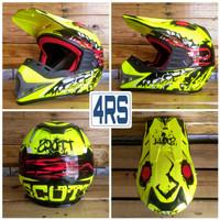 Helm Cross Anak Scott MX Cobra-Series Junior Trail Adventure