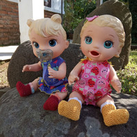 Kaos Kaki Perlengkapan Aksesoris Boneka Baby Alive BB011LS - S