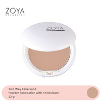 Zoya Cosmetics Natural White Two Way Cake Sand 03