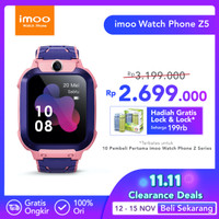 imoo Watch Phone Z5 - HD Video Call - PINK