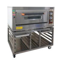 Kaki/Meja Oven deck gas stainless
