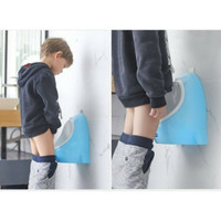 BK143 Chicco potty training anak cowo - Biru