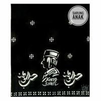 Sarung Batik Anak SD SMP Sarung Santri motif Kang Santri