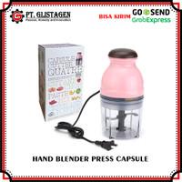 Blender Capsule Cutter Quatre Serbaguna Hand Blender Press Multifungsi
