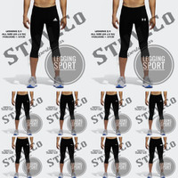 Celana Baselayer 7/8 Panjang Longpants Manset Training Legging Renang