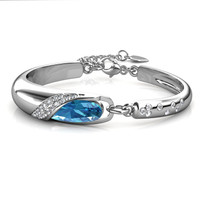 Brace Bangle - Gelang Crystal Swarovski by Her Jewellery