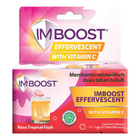 Imboost Effervescent Tropical Fruit 8'