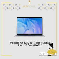 Macbook Air 2020 MWTJ2 13 13 inch i3 256GB Touch ID Gray BNIB