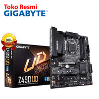Gigabyte Motherboard ATX Socket LGA1200 4 x DDR4 ( Z490 UD )