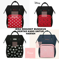 Tas Asi Susu Bayi Tas Baby Diaper Bag Mommy Bag Ransel Original Disney - RANDOM