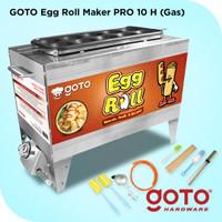 Goto PRO GAS Egg Roll Maker 10 Hole Mesin Sostel Sosis Telur 10 Lubang