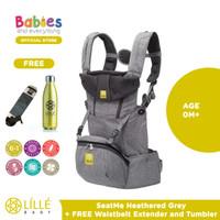 Lillebaby SeatMe™ Hip Seat Heathered Free Waisbelt & Tumbler
