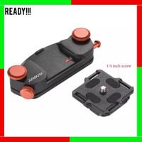 Metal Quick Release Kamera Waist Belt Strap Buckle Button Mount Clip
