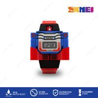 SKMEI 1095 DG1095 Original Jam Tangan Anak Robot Transformer Kids