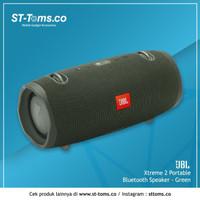 JBL Xtreme 2 Portable Bluetooth Speaker - Green MURAH