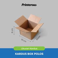 Corrugated Box - Kardus Box Polos 10x10x8 cm