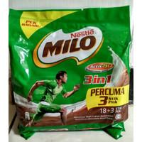 Milo Malaysia 3 in 1 Sachet