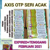 Kartu Perdana Axis OTP Pulsa 0K