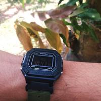 Jam Tangan Digitec 3087 with Custom Adapter + Nylon Strap (Not Casio)