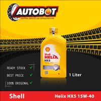 Oli Mesin Mobil/ Motor Shell Helix HX5 15W-40 1L