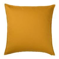 IKEA Gurli Cushion Cover Golden Yellow (Sarung Bantal Kursi)