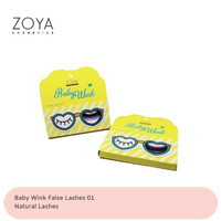 Zoya Cosmetics Baby Wink False Lashes 01