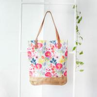 Aisya Tote Bag Marigold White