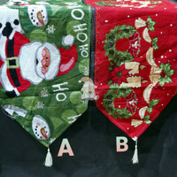 Table Runner Rug Christmas/ Taplak Meja Natal