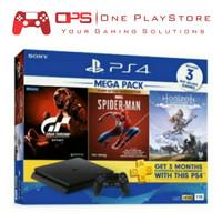 Sony Playstation PS4 Slim 1TB Mega Pack 3 Garansi Resmi