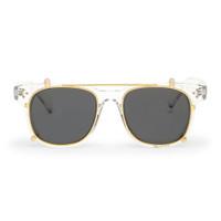 Frame Kacamata Clip On / Fashion / Locke Clear