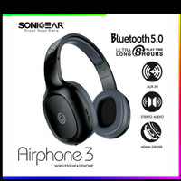 Headset Bluetooth Sonic Gear Airphone 3 New Style