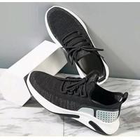 Marelow - Sepatu Sneakers Pria Casual Import - SNK7051 - Black, 39