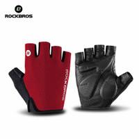 Sarung Tangan Sepeda Rockbros Gloves Half Finger Gel Original