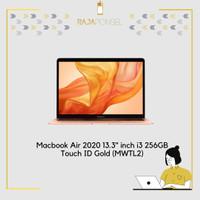 Macbook Air 2020 MWTL2 13.3 inch i3 256GB Touch ID Gold