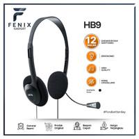 Handsfree   Headphone Bando  Headset Microphone Stereo Sound JETE HB9