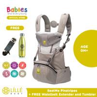 Lillebaby SeatMe™ Hip Seat Pinstripe Free Waisbelt & Tumbler