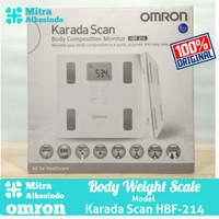 Body Fat Monitor Omron HBF214 - Karada Scan HBF 214