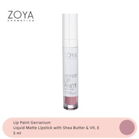 Zoya Cosmetics Lip Paint Gerranium 12