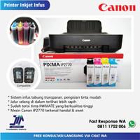Printer Canon IP2770 - Mesin Baru + Cartridge Compatible + Infus 100ml