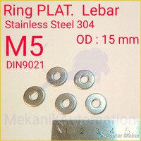 Ring Lebar M5 SUS304