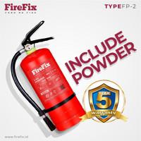 FIREFIX FP3,5 powder 3,5 kg Tabung Alat Pemadam Api Ringan APAR Kebaka