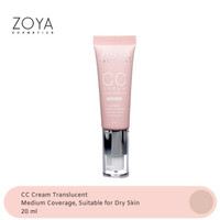 Zoya Cosmetics CC Cream Translucent