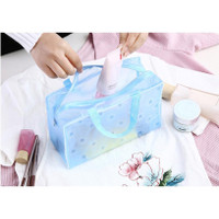 TAS MAKEUP Travel / Pouch Kosmetik Waterproof Lucu Cosmetic Bag KOREA
