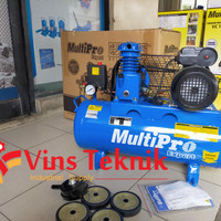 VBC025/30HS MultiPro VBC 025 - 30 HS Belt Drive Air Compressors 1/4HP