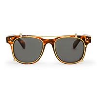 Frame Kacamata Clip On / Fashion / Locke Tortoise