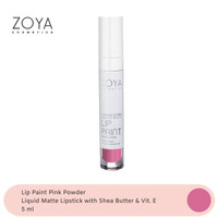 Zoya Cosmetics Lip Paint Pink Powder 07