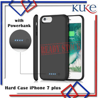 [KUKE] Hard Case With Power Bank for iPhone 7 plus 2100mAh