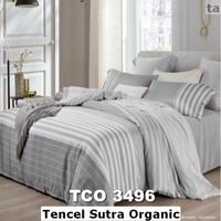 Sprei Bahan Import Tencel Sutra Organic Murah Ori Ukuran 160x200x30